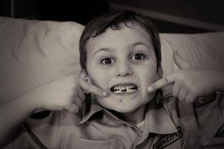 Josiah lost teeth