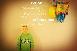 Josiah age 7