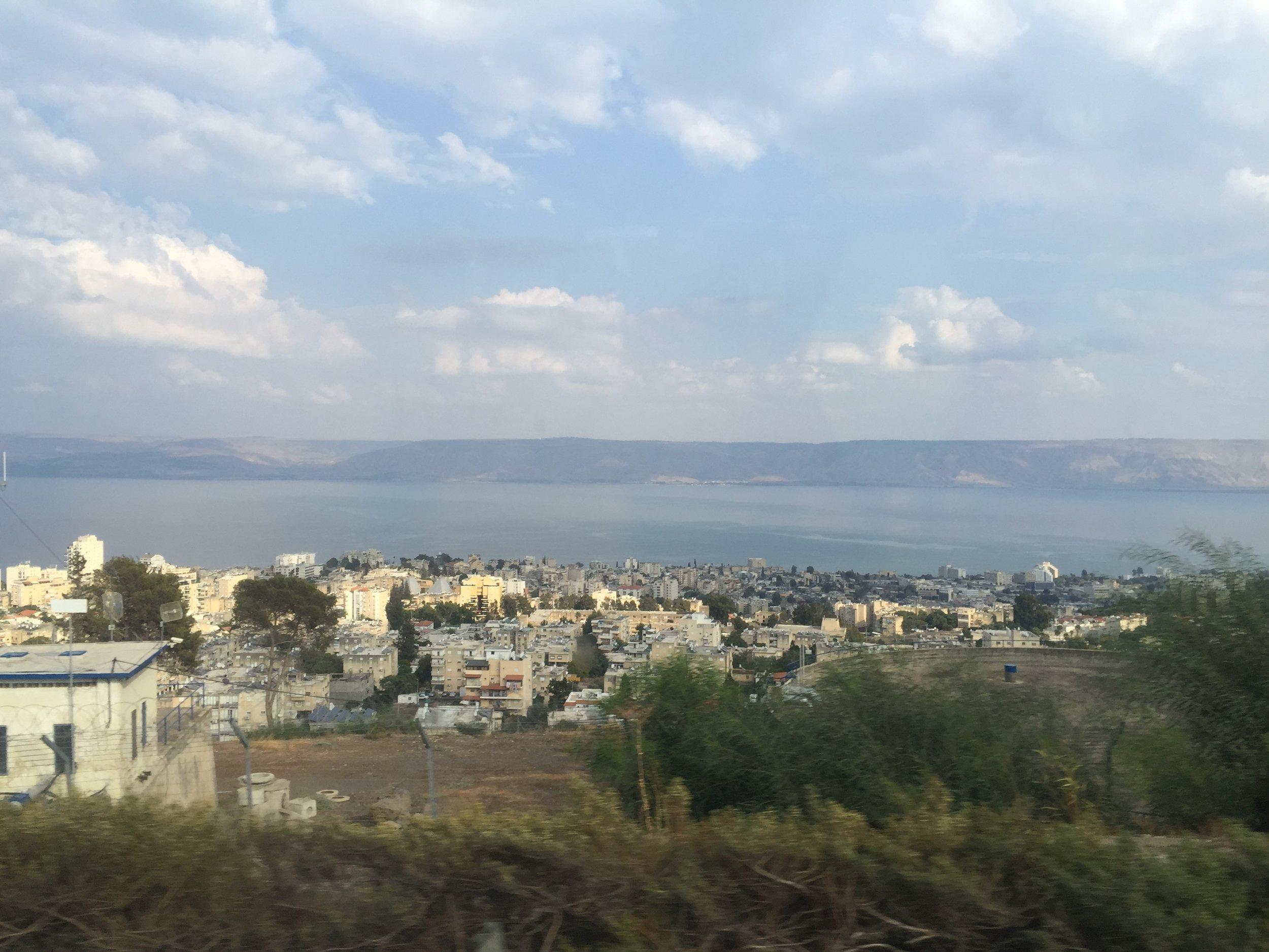 Tiberius along the Sea of Galilee